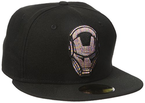 New Era Cap Men's Logo Craze Fitted Ironman 59fifty, Black, 7 (Iron Man Hat compare prices)
