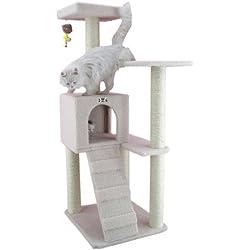 Armarkat B5301 53-Inch Cat Tree, Ivory
