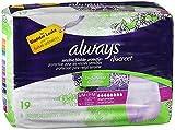 Always Discreet Underwear Maximum Absorbency Size Small/Medium - 3pks of 19, Pack of 4