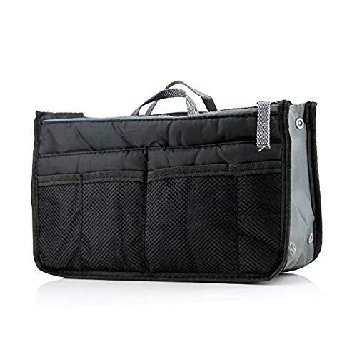 UNIGEAR Multipocket Handbag Organizer, 13 Pocket  Black