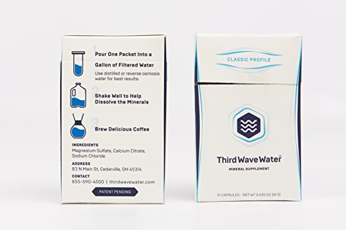 Third Wave Water Mineral Enhanced Flavor Optimizing Coffee Brewing Water, Classic Flavor Profile,  0.635oz by Third Wave Water (Image #2)
