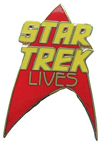 Enamel 1988 (Enamel pin Star Trek Lives 1988 vintage out-of-production)