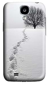 rugged Samsung S4 case Footprints 3D cover custom Samsung S4