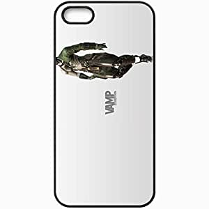 Personalized iPhone 5 5S Cell phone Case/Cover Skin Metal Gear Solid 4 Guns Of The Patriots Black