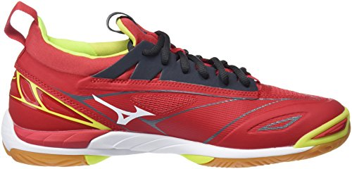 Mizuno Men's Wave Mirage 2 Running Shoes Multicolor (Marsred/White/Safetyyellow 91) pF9xw