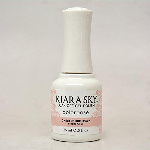 Kiara Sky Gel Polish, Cheer Up Buttercup, 15 Gram