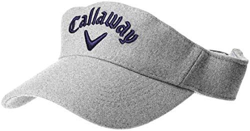 [キャロウェイ アパレル][メンズ] フランネル サンバイザー (サイズ調整可能) / 241-8284605 / 帽子 ゴルフ メンズ