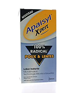 Apaisyl Xpert 100% Radical Lice and Eggs 100ml