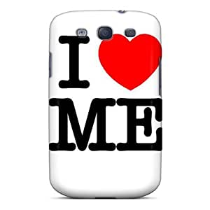Tpu Case Cover For Galaxy S3 Strong Protect Case - I Love Me Design