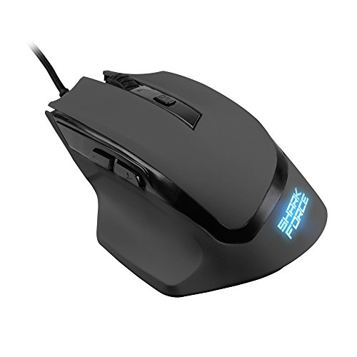 Sharkoon Shark Force Gaming Maus schwarz