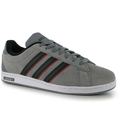 86435eb48bf0 adidas Herren Derby Wildleder Sneaker Ortholite Lace Up Casual Sportschuhe  Schuhe, Grau - Grey