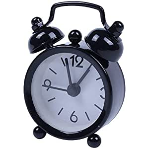 Amazon.com: Alarm Clocks - Mini Lovely Cartoon Round Alarm ...