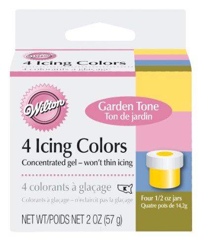 Wilton Garden Tone 4-Piece Colors - 4 Colors Icing Set