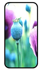 Hard Case Back Cover - Beautiful poppy flower iPhone 4,iPhone 4s Case