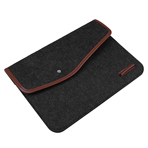 Cover Protection Laptop 13in Phone Bag Felt Tablet Widewing Portable For SBYqgg