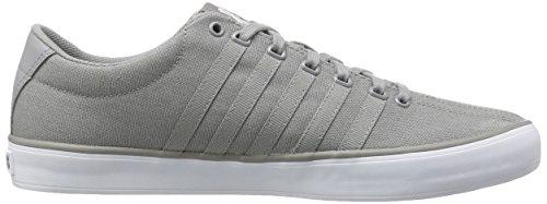 K-Swiss Unisex Adults' Court Pro Vulc Low-Top Sneakers, Black/White Stingray/White