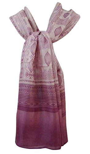 de Pura Impreso Mant Bufandas seda Resumen bufanda Aboutyou Hijab wxpIvn
