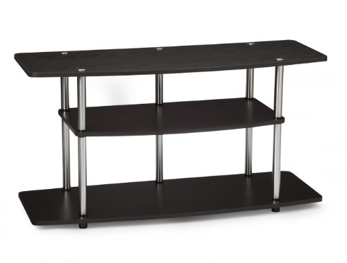 Stand Steel Tv Modern (Convenience Concepts Designs2Go 3-Tier Wide TV Stand, Dark Espresso)
