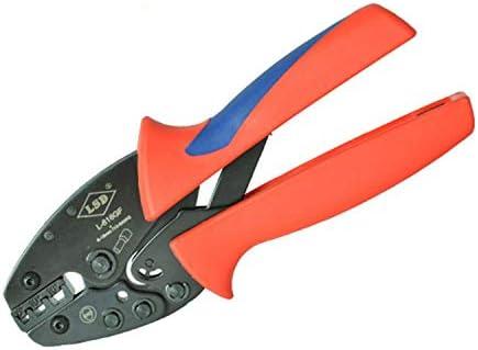 ケーブルカッター ワイヤエンドフェルール 圧着工具 10-6 AWG 圧着ペンチ 手動ケーブルカッター