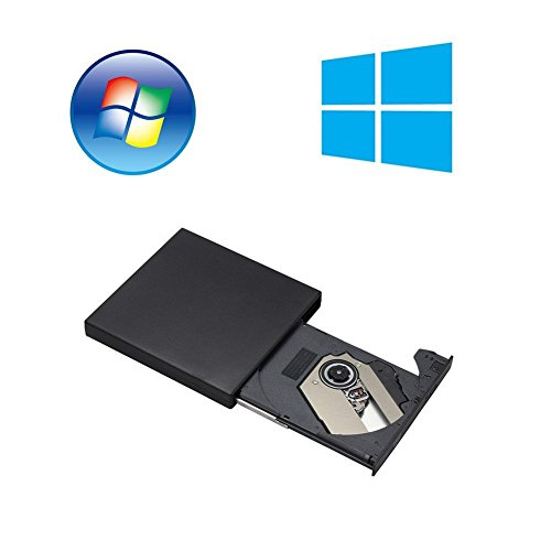 External Portable CD-RW DVD ROM Combo Burner Drive for For Mac,Windows 2000/XP/Vista/7/8/10 Laptop Notebook PC Desktop Computer by TCDY (Image #5)