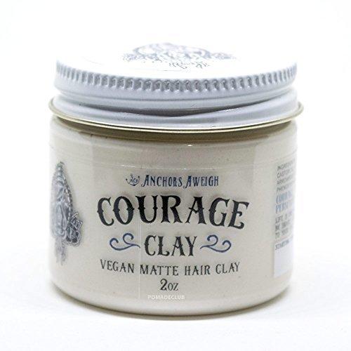 Anchors Hair Company Courage Clay - Natural Vegan Hair Clay (2.3 Oz) by Anchors Aweigh (Image #3)