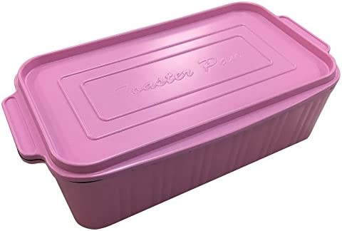 葛恵子のトースタークッキング専用 トースターパン (ピンク)