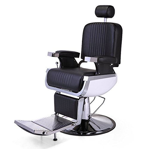 JAXPETY Heavy Duty Salon Hydraulic Recline Barber Chair