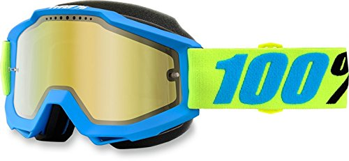 100% Accuri Belize Snow Goggles Blue/Mirrored Lens