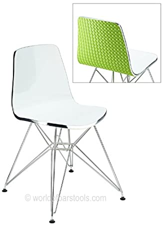 Stupendous Costantino Ultra Modern Acrylic Dining Chair Green Amazon Gmtry Best Dining Table And Chair Ideas Images Gmtryco