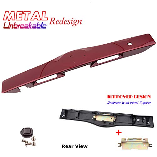 Rear Exterior Tailgate Liftgate Handle Garnish For 04-09 Toyota Prius 3R3 Barcelona Red Mica 2004 2005 2006 2007 2008 2009
