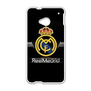 Realmadrid Club Of Futbol White htc m7 case