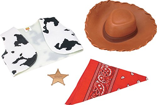 [Disguise Costumes Woody Child Acces Kit] (Woody Costume Vest)