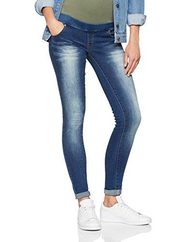 Mamalicious Pantaloni Jeans A Maternit Rib Mlsoul Dark Slim Blue Di 7Ufn7rxZ