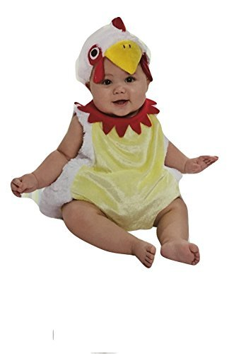 [Boo Babies Halloween Costume Chicken Nugget Sz 0-9 Months 3 Pieces White Red by Boo Babies] (Chicken Nugget Costume)
