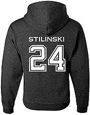 Adult Stilinski 24 Beacon Hills Lacrosse 2-Sided Hoodie