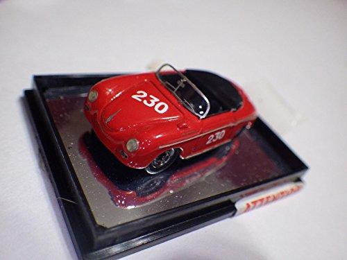 (High Tech Modell (Germany Red Porsche 356A Speedster Racing Diecast 1:87 Nib)