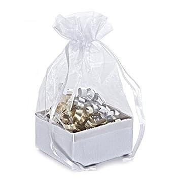 Amazon.com: Tela tela caja blanca con parte superior ...