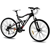 bergsteiger phoenix 26 zoll mountainbike geeignet ab 160 cm scheibenbremse shimano 21 gang. Black Bedroom Furniture Sets. Home Design Ideas