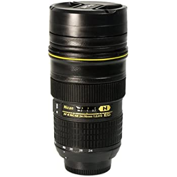 Foto&Tech Travel Coffee Mug / Cup / Thermos Lenscup / Lens Cup Stainless  Steel Insulated Tumbler