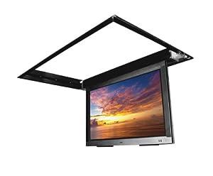 Flp 210 in ceiling flip down motorized tv for Motorized drop down tv mount