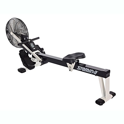 Stamina Air Rower Fitness Rowing Machine, Black – DiZiSports Store