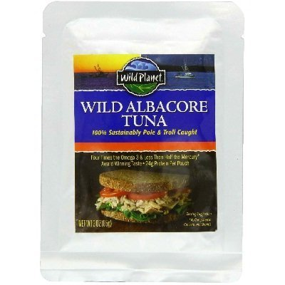 Wild Planet Albacore Tuna - Pouch Pack, 3 Ounce -- 12 per case. by Wild Planet