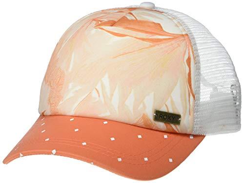 Roxy Junior's Water Come Down Trucket Hat, Bright White Jungle Boogie, 1SZ (Roxy Cap For Girls)