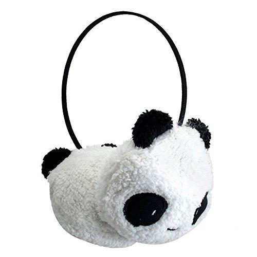 Winter Cute Panda Earmuff Ear Muff Warmer-White - 5