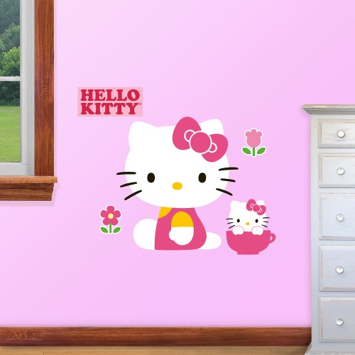 Nice FATHEAD Hello Kitty Fathead Jr. Graphic Wall Décor Part 15