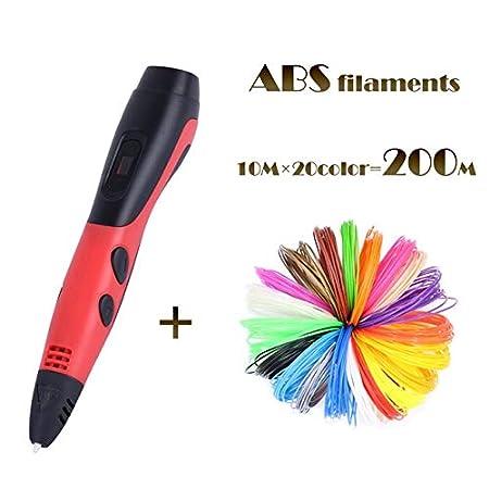 3d Pluma De Dibujo 100m O 200 Metros 3d Impresora Abs Filamentos ...
