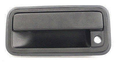 Replacement For 88-02 Chevrolet GMC C/K Full Size Pickup Black Front Outer Door Handle Left Side