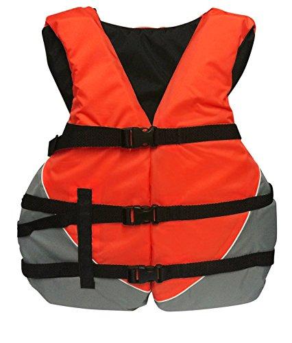 MW Adult Universal Oversize Life Jacket Vest - Red