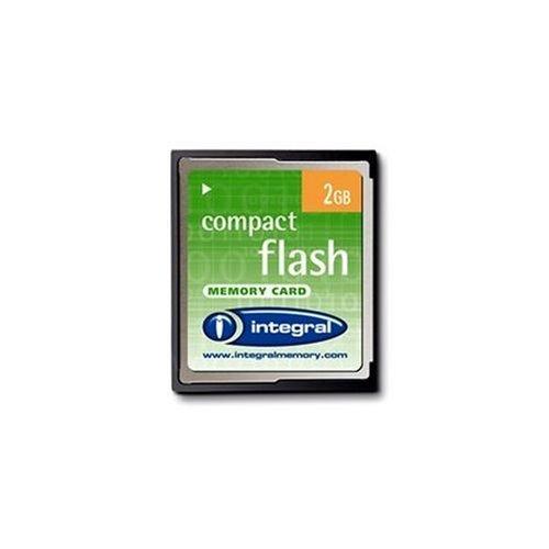 Integral Carte Mé moire COMPACT FLASH V mAh 2 Go MEMCF2 INCF2G.1 Carte mémoire