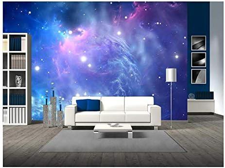 Blue Space Nebula
